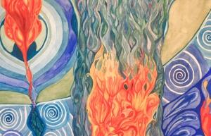2004: Belly Fire copyright Marika Reinke