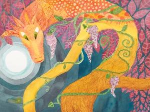 2011: Dragon in the Tree copyright Marika Reinke
