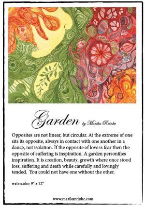 Garden Story Card Example