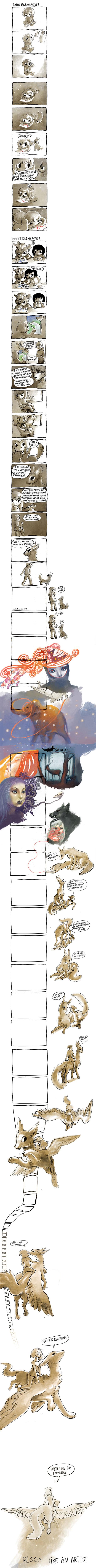 Born Like an Artist - http://themetapicture.com/born-like-an-artist/