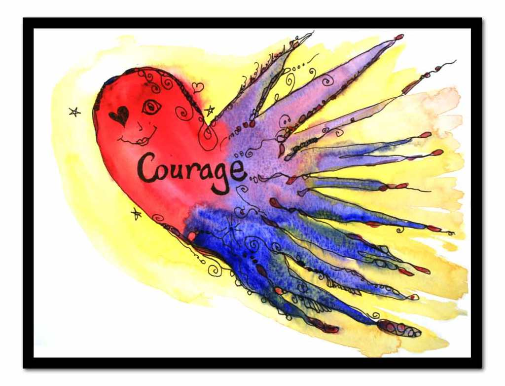Courage (c) Marika Reinke 2015