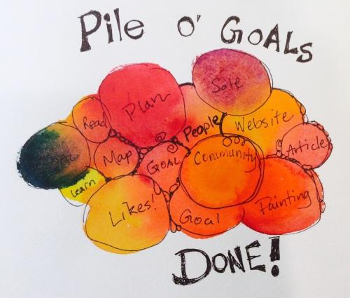 Pile of Goal All Done! (C) Marika Reinke 2015