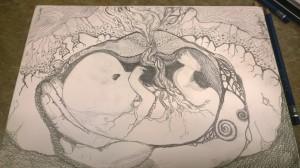 Sketch - Nurture (c) Marika Reinke 2015