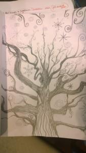 Magic Tree Sketch