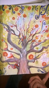 Painted Tree sketch