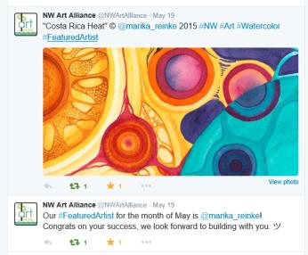 NWAA Twitter Feature with Costa Rica Heat (c) Marika Reinke