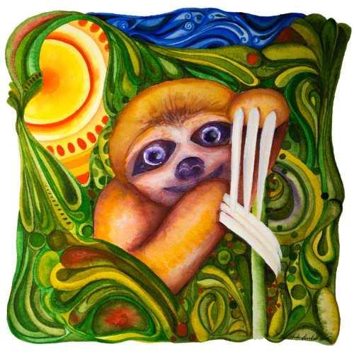 The Wise Little Sloth (c) Marika Reinke