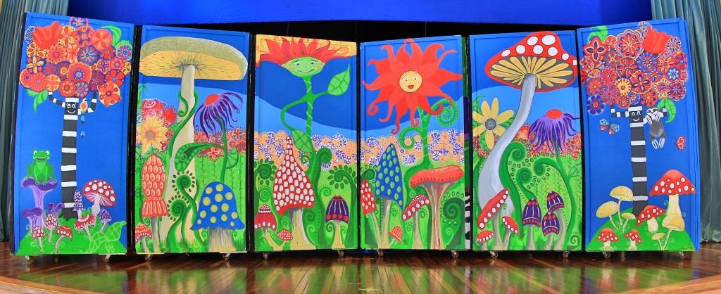 Flowers and Mushrooms (c) Marika Reinke 2016